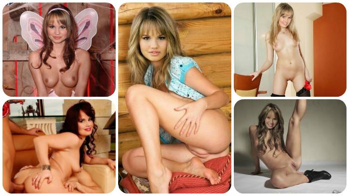 Debby Ryan Naked In Stockings